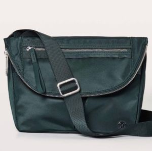 Lululemon Festival Bag II Teal Shadow Forest Green